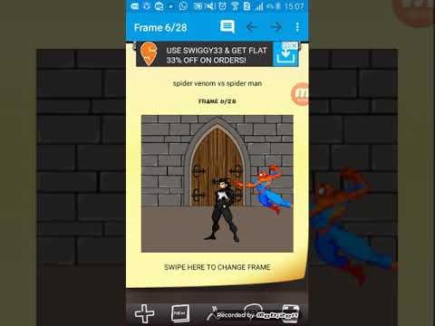 Spider venom vs spider man comic and mem e creator