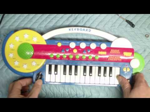 Circuit Bending Fool - Kmart Musical Keyboard