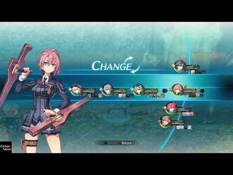 The Legend of Heroes: Trails of Cold Steel III - Cryptid Urkganon Battle  
