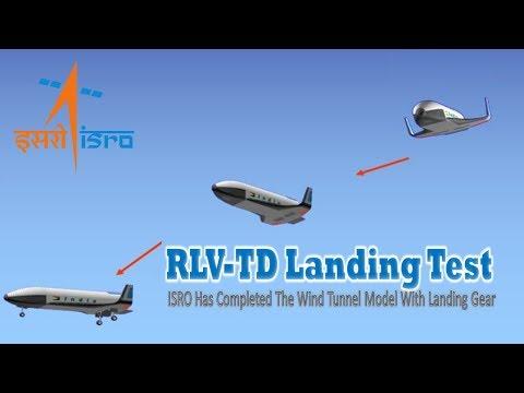 Isro Plans Landing Test For re usable launch vehicle   RLV-TD   Desi Space Shuttle