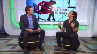 Dr Steve Show - Benefits of Active Sitting