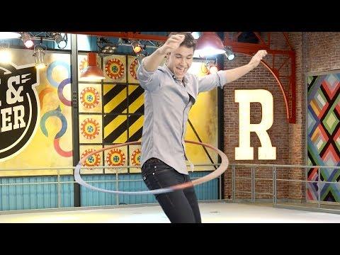 Hula Hoop Challenge di Disney Channel - Michael Ronda per il team di Soy Luna