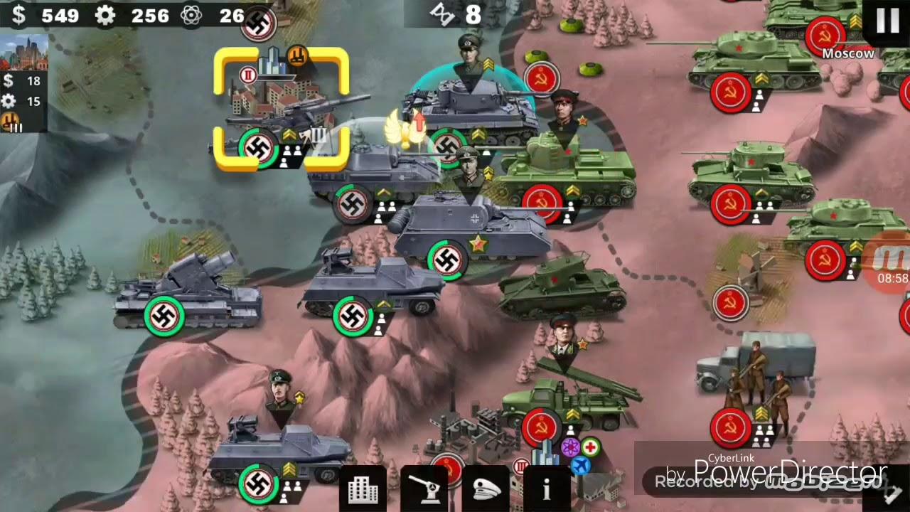 World Conqueror 4:Mission 11(Hard) Conquer Europe