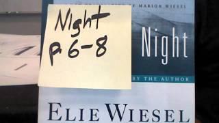 Night by Elie Wiesel page 6-8