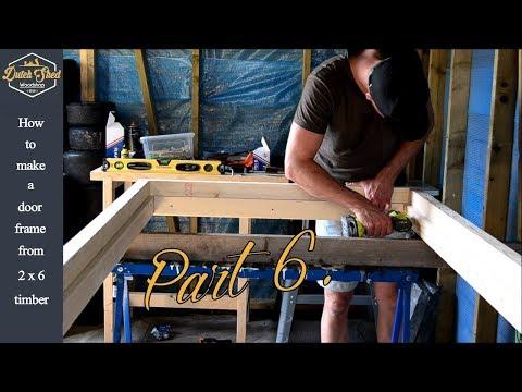 BUILD A SHED   WORKSHOP Part 6   How To Make A Door Frame