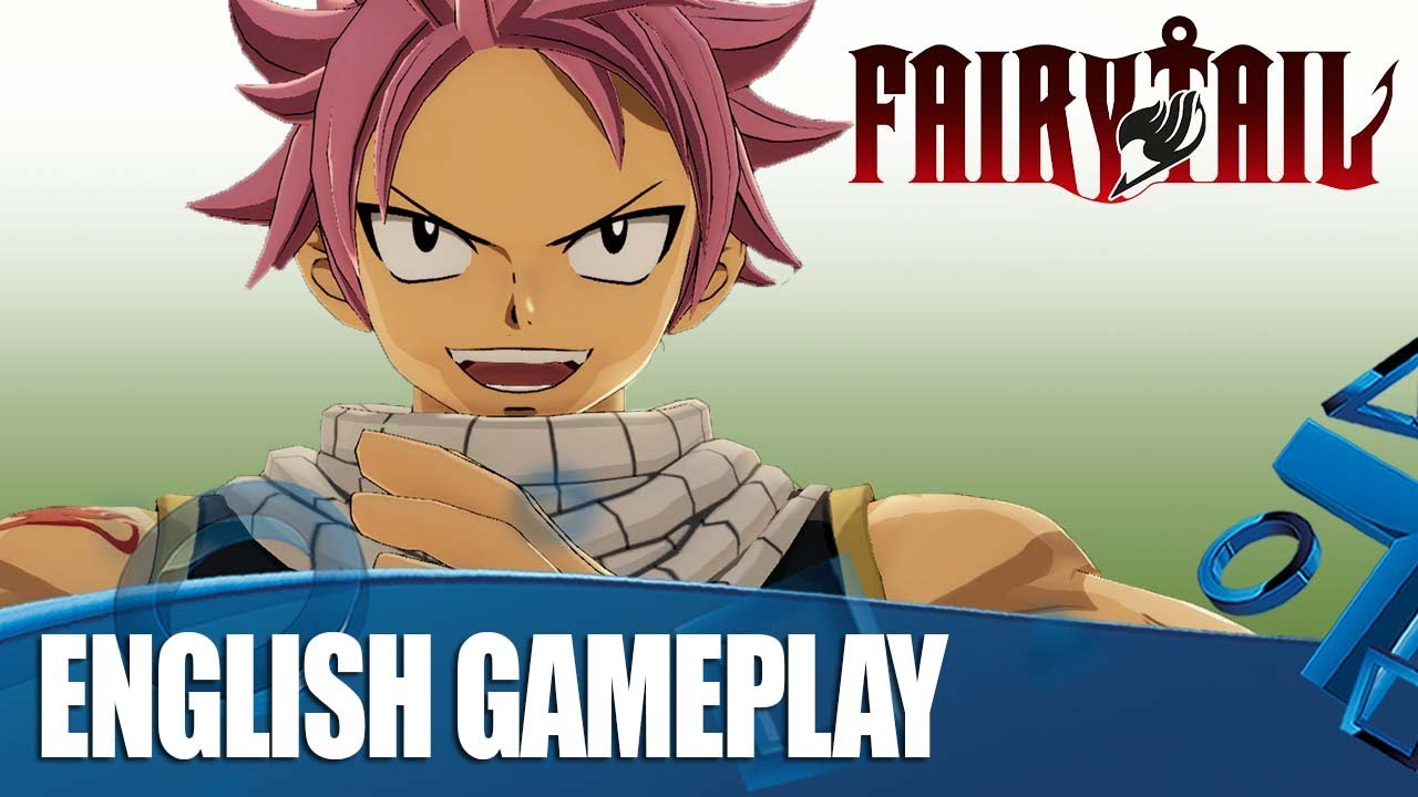 Fairy Tail on PS4 – 20 Minutes Of Exclusive English Gameplay