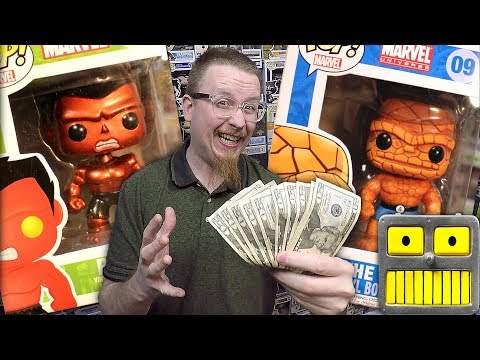How I Purchased A $3800 Funko Pop Vinyl Figures Grail Collection