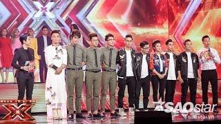cong bo ket qua  liveshow 6 the x factor - nhan to bi an 2016 ss2