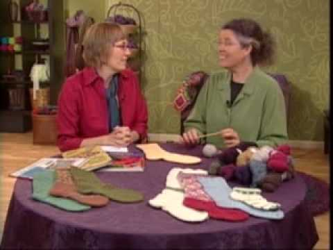 Estonian Cast On for Sock Knitting - KDTV 212 w/ Nancy Bush