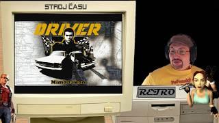 Stroj času - Retro: Driver | 1999 - PC | CZ Gameplay + losování 5 her ze seznamu | LS záznam