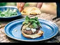Grilled Fennel Burger