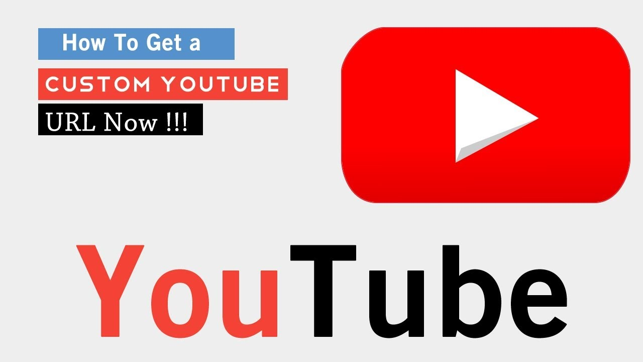 How to change my youtube url name | How to Change Your