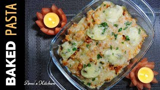 BAKED PASTA in Microwave Oven   DELICIOUS Pasta recipe   Italian Food