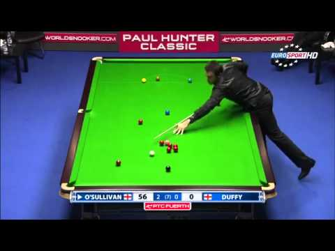 Snooker 2011 Ronnie O'Sullivan 11th 147 break   YouTube