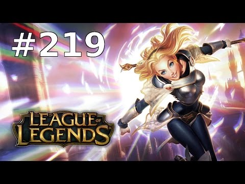 League of Legends Let's Play LoL Deutsch Part 219 - URF First Time Lux (Ultra Rapid Fire)