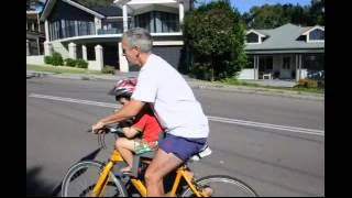 Video WeeRide Safest and Best Baby Bike Seat for 4 Years + download MP3, 3GP, MP4, WEBM, AVI, FLV Agustus 2018