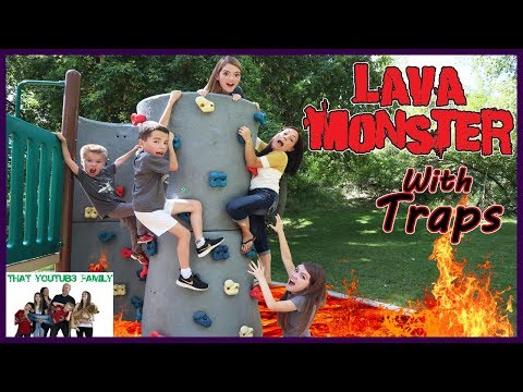 Lava Monster Tag With Traps / That YouTub3 Family thumbnail