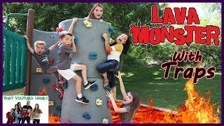 Lava Monster Tag With Traps / That YouTub3 Family streaming