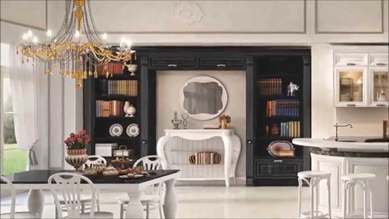 Cucina Classica Mod Pantheon Cucine Lube Torino Youtube