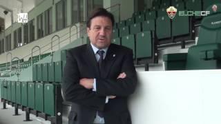 Elche CF Oficial - Entrevista a José Sepulcre
