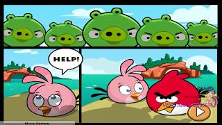 Repeat youtube video Angry Birds Online Games - Episode Angry Birds Heroic Rescue Levels 1-24 - Rovio Games