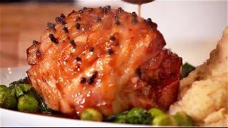 Roast Ham & Chilli Garlic Mash