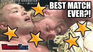 Kenny Omega Vs Kazuchika Okada REACTION! New Japan Dominion 2018! BEST MATCH EVER?!
