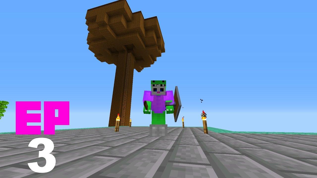 Minecraft en 1 bloque - EP3 - Empezamos con las granjas