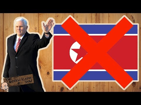 Mike Pence Rejects North Korean Anthem