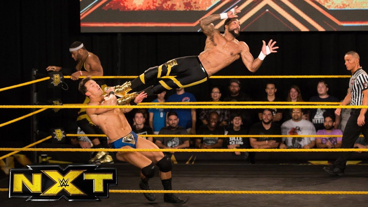 Street Profits vs. Riddick Moss & Tino Sabbatelli: WWE NXT, Nov. 29, 2017