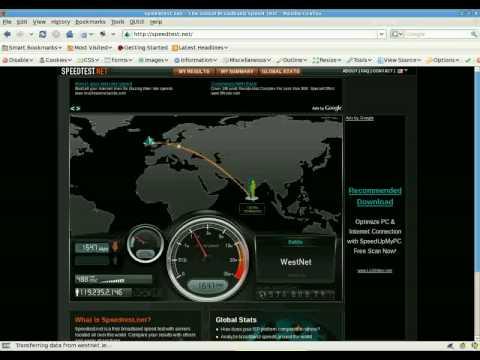 Sri Lanka BroadBand speed test