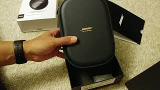 Bose quiet comfort 35 II limited edition midnight blue unboxing
