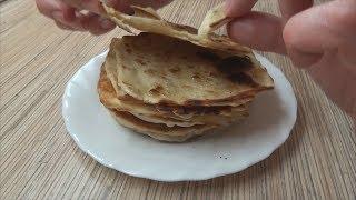 Турецкие лепешки или когда дома нет хлеба!