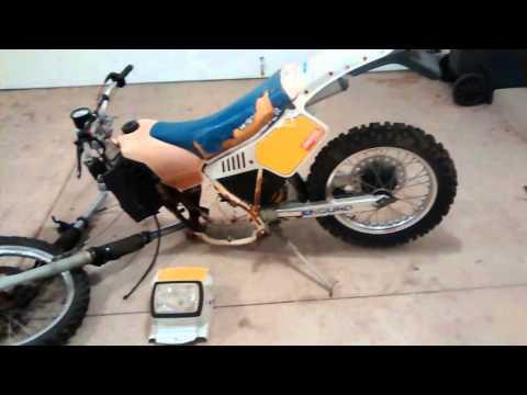 1987 Husqvarna WRK 125 - Parts Bike