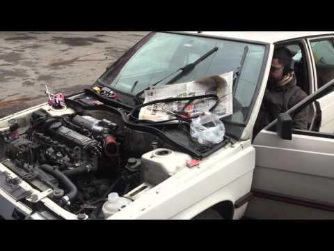 Renault 11 Txe N/A Injection Project - First Start