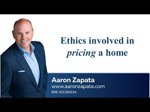 Ethics Involved in Pricing a Home
