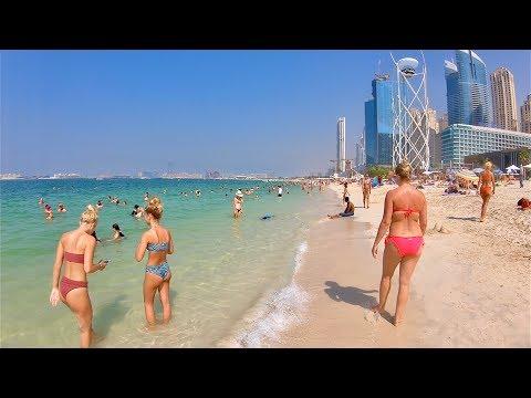 Beach Walk - Jumeirah Beach In Dubai   JBR Beach Dubai
