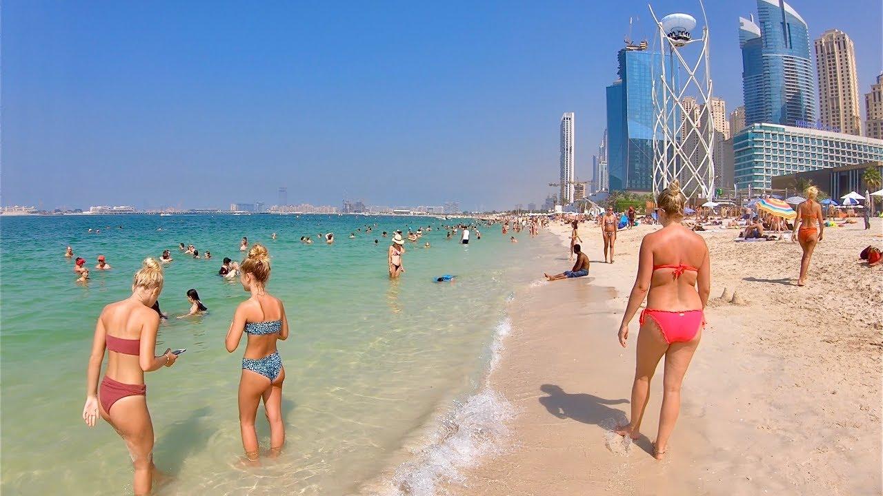 Jumeirah Beach In Dubai Jbr