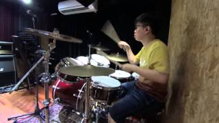 [Digimon Adventure tri] Butter-fly drums cover by Henry Wong