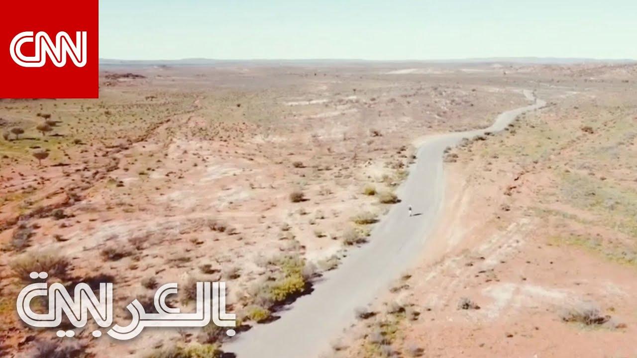 على أصغر وسيلة نقل.. مغامر أسترالي يقطع مسافة 4 آلاف كيلومتر  - نشر قبل 41 دقيقة