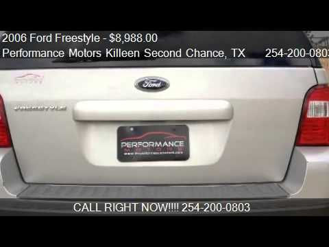 2006 Ford Freestyle Se For Sale In Killeen Tx 76543
