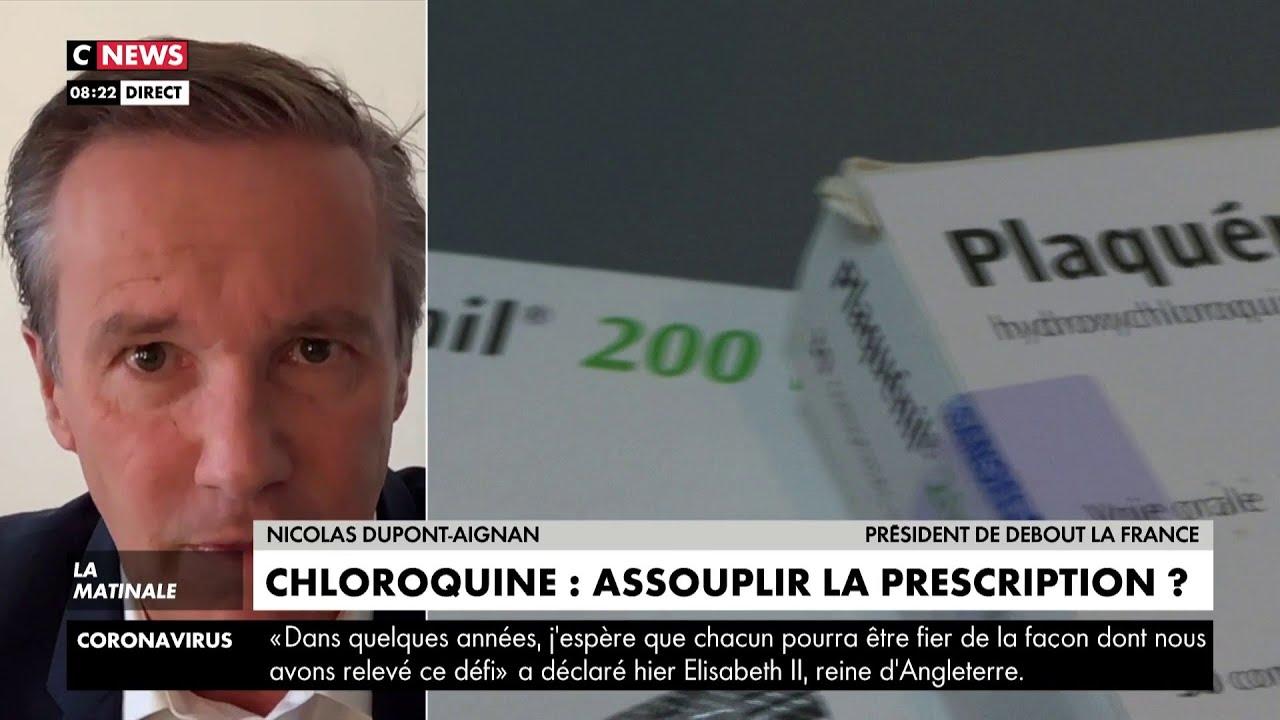 Nicolas Dupont-Aignan: «Si on ne tire pas les leçons, le déconfinement ne pourra pas avoir lieu»