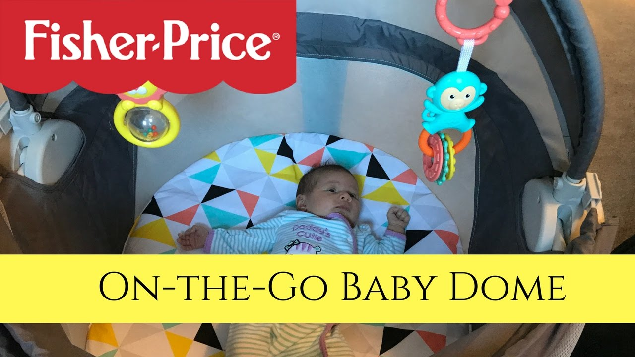 Fisher Price On the Go Baby Dome  sc 1 st  YouTube & REVIEW! Fisher Price On the Go Baby Dome - YouTube