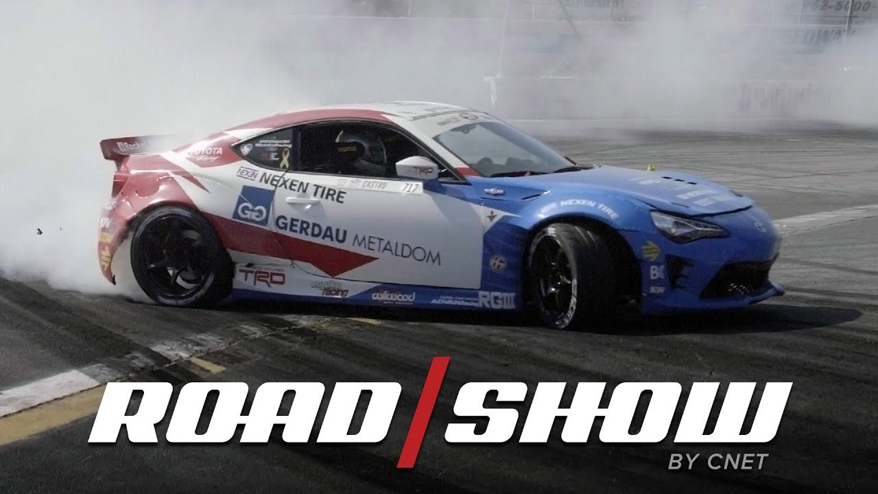 Formula Drift champion Fredric Aasbo shows us how to drift in a Toyota 86