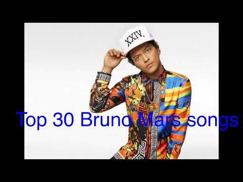 Top 30 Bruno Mars songs