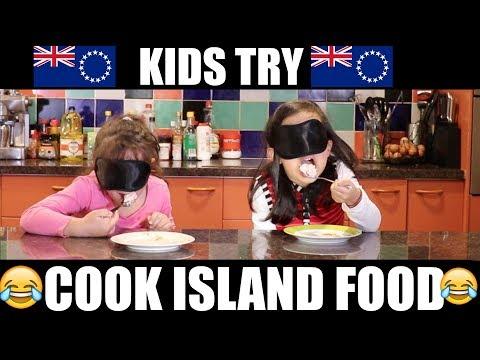 🇨🇰 Kids Try Cook Island Food 🇨🇰 - Jess & Ayva