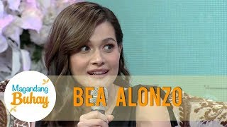 Gambar cover Bea reacts on Gerald's statement about having 4 babies   Magandang Buhay