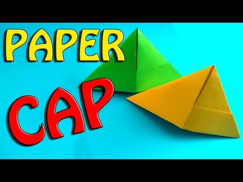 Paper Caps For Kids Easy & Fast Craft Ideas. How To Make Origami Hat Designs For Kids