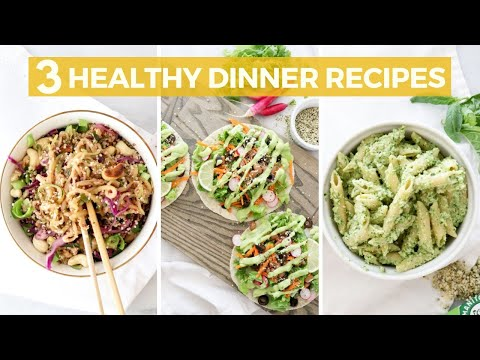 3 EASY & Healthy Dinners (Vegan, Gluten-Free) | Healthy Grocery Girl