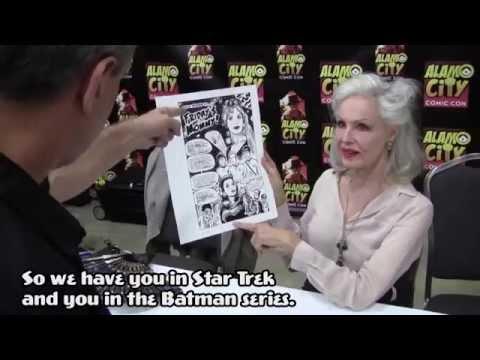 Julie Newmar: The Successfully Unsuccessful ! Alamo City Comic Con 2014